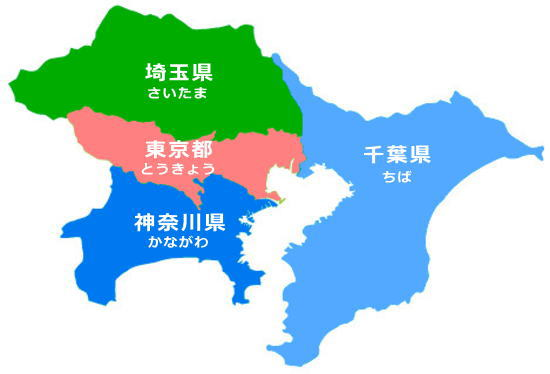 サービス提供エリア(地図)